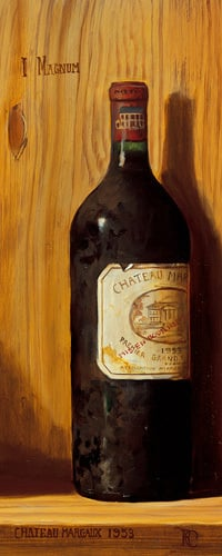 Chateau Margaux 1953 by Raymond Campbell