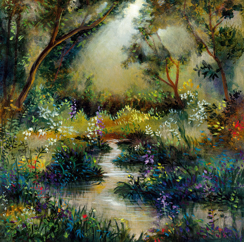 Woodland Flowers I by Giovanni