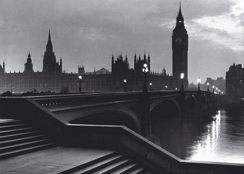 Bridge with Big Ben by Anonymous