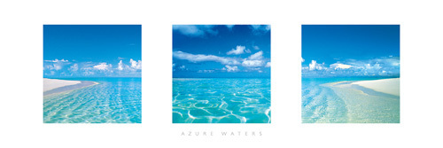 Azure Waters by Anonymous