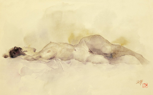 Sleeping by Li Yajun