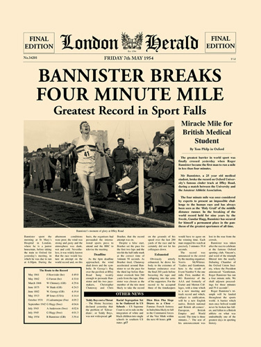 Four Minute Mile by London Herald