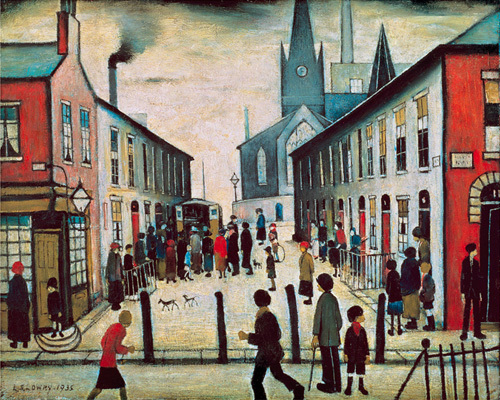The Fever Van by L S Lowry