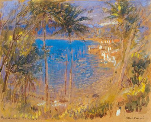 Port Antonie, Jamaica by Albert Goodwin