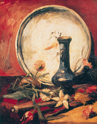 Still life with flowers by Vincent Van Gogh