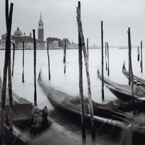 Venetian Gondolas II by Bill Philip