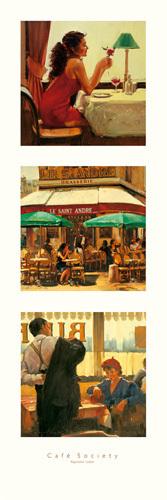 Cafe Society I by Raymond Leech