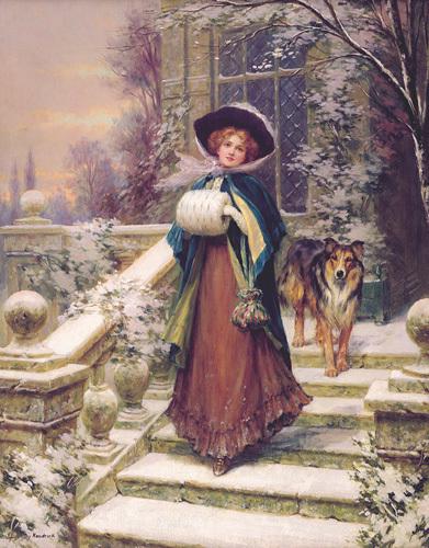 A Winter Rose by Sydney Kendrick