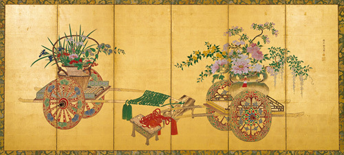 Japanese Screen I by Anonymous