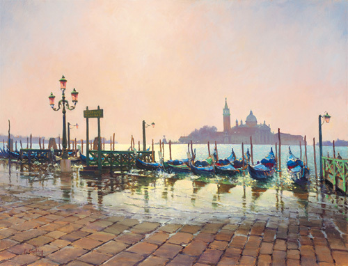 Early Morning from St. Marks by Peter Curling