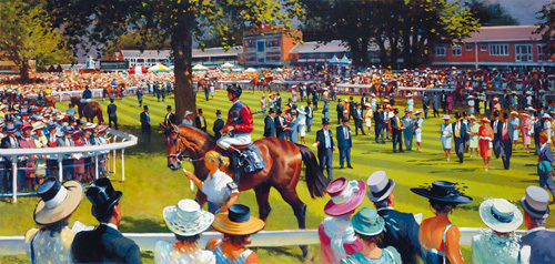 Royal Ascot Jubilee Year 2002 by Peter Curling