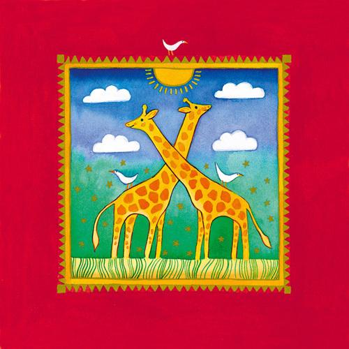 Giraffe by Linda Edwards
