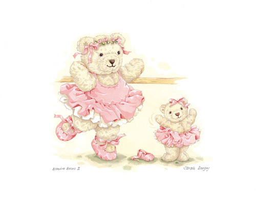 Ballerina Bears II by Sarah Bengry