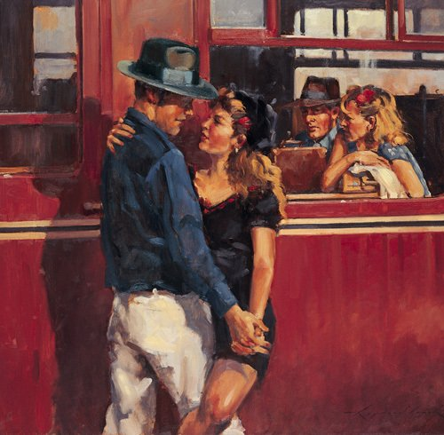 How many times can we say goodbye (small) by Raymond Leech