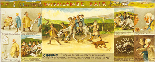 Widdicombe Fair by T.F. Richards