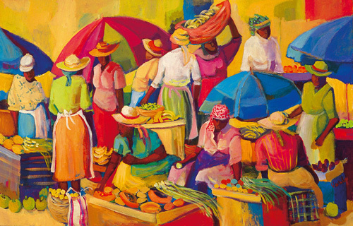 Market day by Vanita Comissong