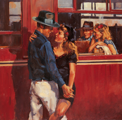 How many times can we say goodbye by Raymond Leech
