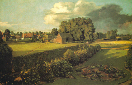 Golding Constable's Flower Garden by John Constable