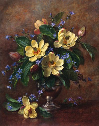 Le vase fleuri by Albert Williams