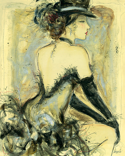 My Fair Lady IV by Karen Dupré