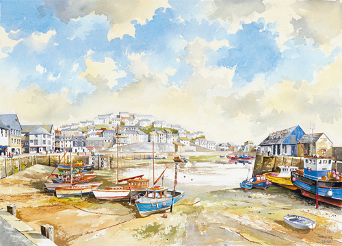 Mevagissey by John Chrisnall