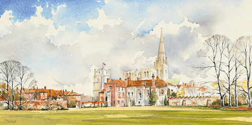 Chichester Cathedral by John Chrisnall