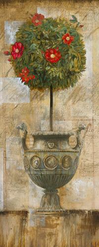 Grecian Bloom I by Joseph Augustine Grassia