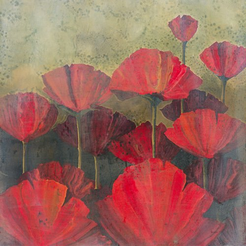 Poppies I by Robert Holman