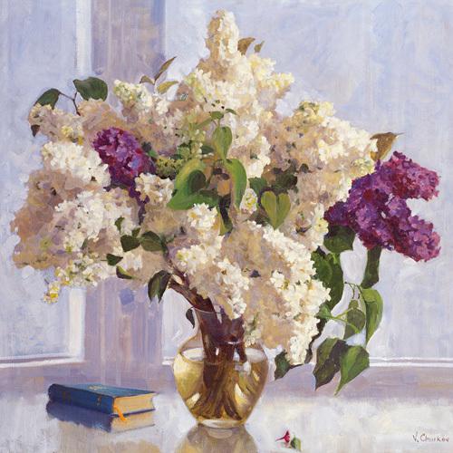 Lilac Mist II by Valeriy Chuikov