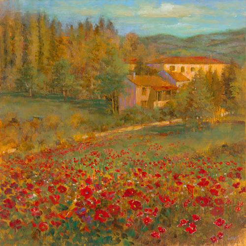 Provencal Village VI by Longo