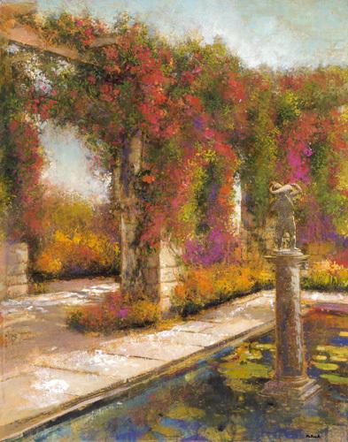 English Garden I by Patrick