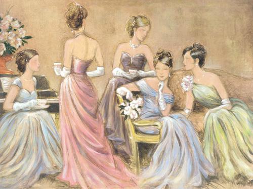 Elegant Tea I by Karen Dupré