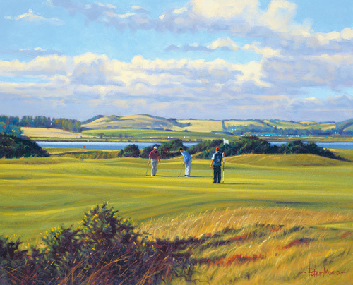 St. Andrews 6th - Heathery (Out) by Peter Munro