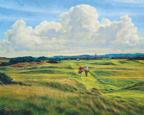 St. Andrews 8th - Short by Peter Munro