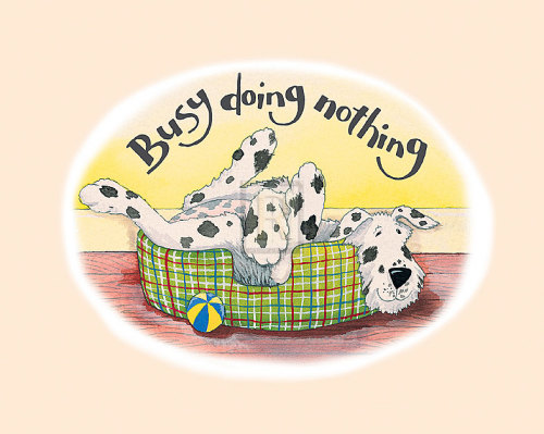 Busy Doing Nothing by Kate Mawdsley
