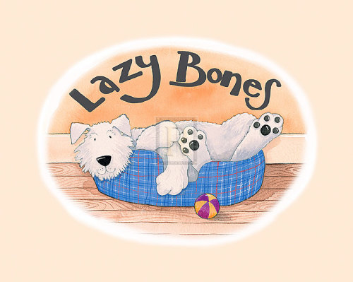 Lazy Bones by Kate Mawdsley