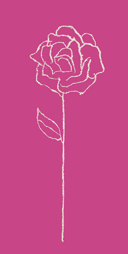 Romantic Rose I by Alice Buckingham