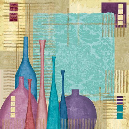 Raku I by Linda Wood