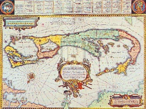 Map of Bermuda by Willem Janszoon Blaeu
