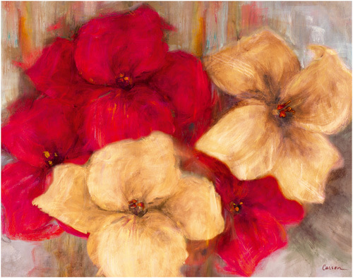 Lily Reds II by Carson