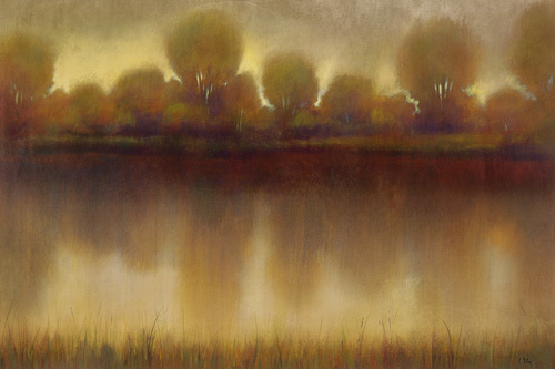 Marsh of the warm sunset by Williams