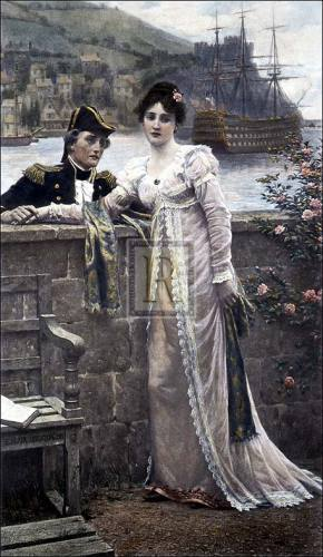 A Sailor's Farewell by Edmund Blair Leighton