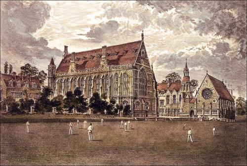 Clifton College by Charles Bird