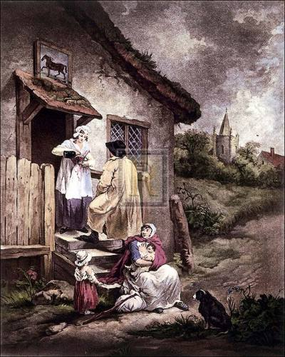 The Dram (large) by George Morland