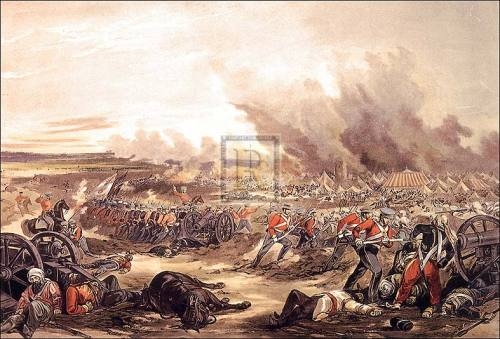 Charge of the 3rd Light Dragoons by Henry Martens