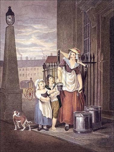 Milk below maids by Francis Wheatley