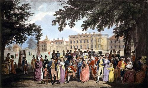 Buckingham House, St. James's by Edward Dayes