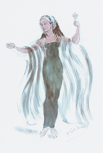 Designs For Cleopatra VIII by Oliver Messel