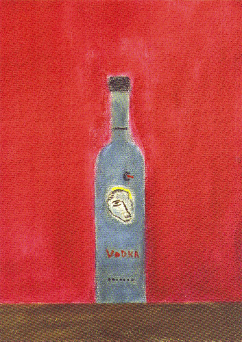 Vodka Bottle by Craigie Aitchison