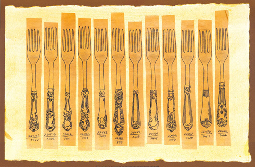 Fork by Cutlery Series